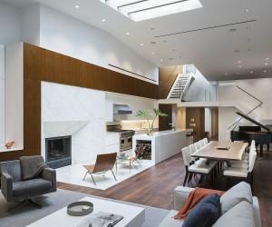 NoHo Loft: Single-Floor Apartment Turned Into a Luxurious Triplex Penthouse