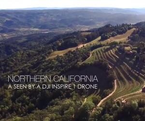 Northern Californias Napa  San Francisco Seen From A Drone