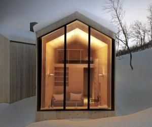 Norwegian Cabin by Reiulf Ramstad