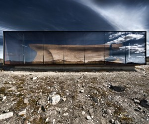Norwegian Wild Reindeer Centre Pavilion by Snhetta