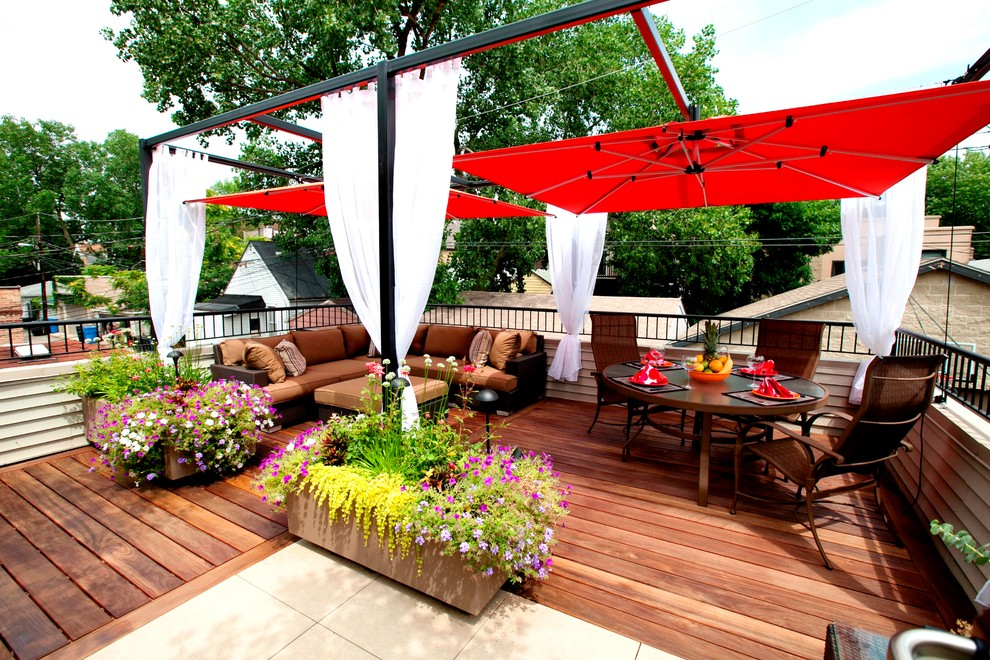 Not Just For The Beach How To Use Umbrellas In Your Garden Or Patio