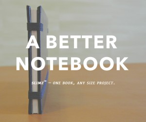 Notebook Slimz | One Notebook, Any Size Project