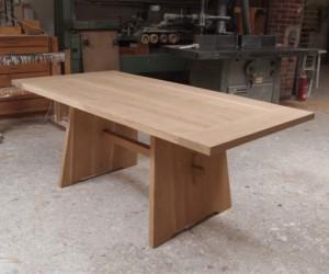 Oak Solid Wood Dining Table Eiche Massivholz Esstisch| Japanese style japanischer Stil| Tidyboy - Berlin