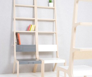 Object-B: Ladder, Shelf, Chair