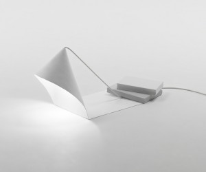 Object Dependencies Lamp by Nendo