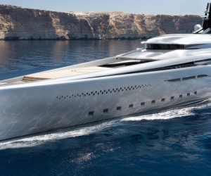 Oceancos 351-Foot Stiletto Hybrid Superyacht Concept Is a Triumph of Form and Function VIDEO