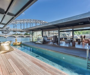 OFF, Floating Hotel and Bar on Seine in Paris