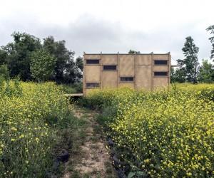Off Grid Prefab Cabin on the Turkey-Greece Border