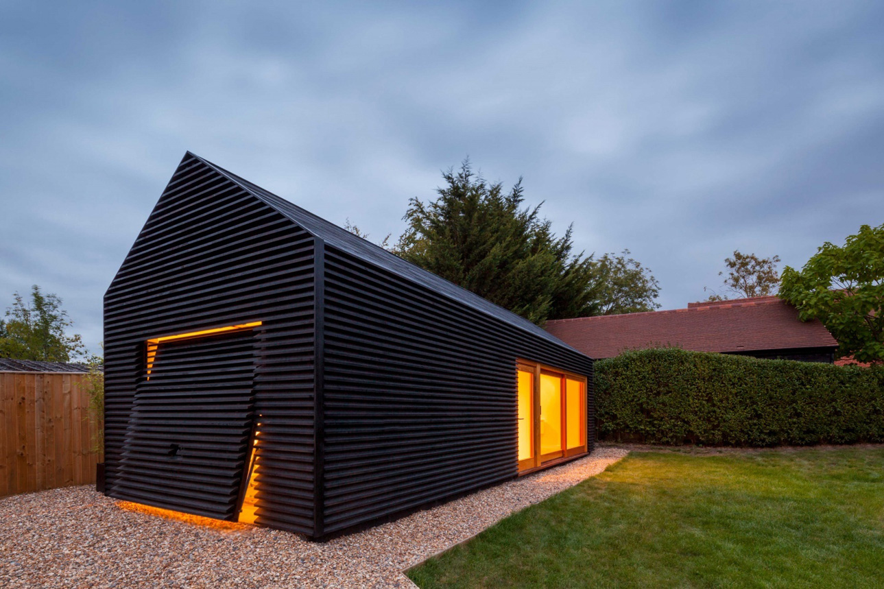 Office and garage by design acb for Garage office designs
