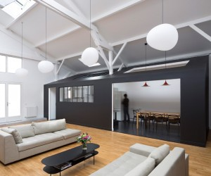 Old Carpentry Transformed into a Light-Filled Loft