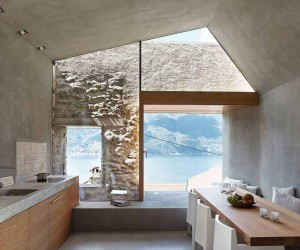 Old Stone House Conversion by Wespi de meuron