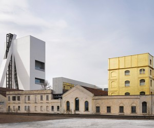 OMA-designed Fondazione Prada Torre Opens In Milan