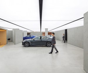 OMA Designs a Sleek Showroom for Hyundais Genesis