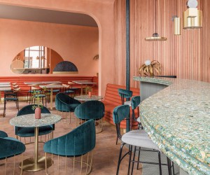 Omars Place Restaurant in London by Sella Concept