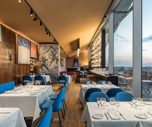 OMAs Fondazione Prada Torre Restaurant Opens