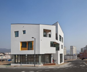 ON Architecture Refurbish a Building in Ulsan, South Korea