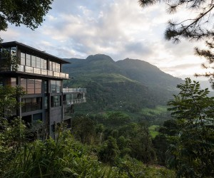 On the Edge of Paradise: Transcendent Hotel by the Water Falls