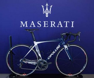 One-off Maserati Cipollini Bond road bike
