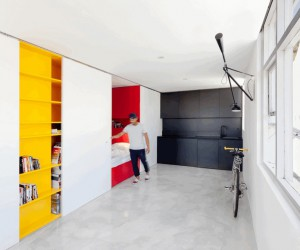 One-Room Apartment in Sydney Displaying an Optimized 27sqm Surface