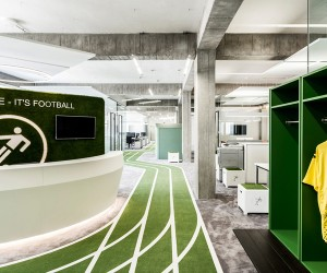 Onefootball Headquarters by TKEZ, Berlin