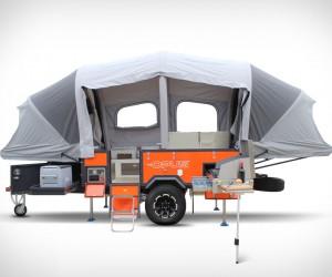 Opus Inflating Camper