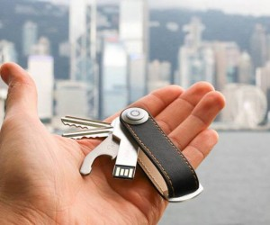 Orbitkey: Organized Key, USB, And Bottle Opener Holder
