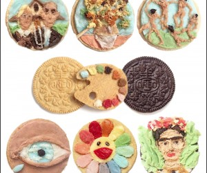 Oreos Become Canvas for Colorful Creme Art