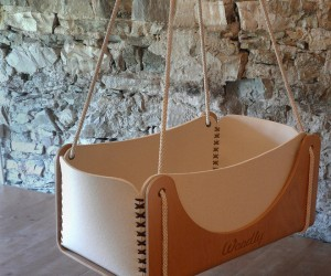 Organic baby cradles from Woodly