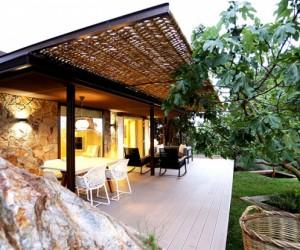 Organic ideas in guest house design, Barcelona