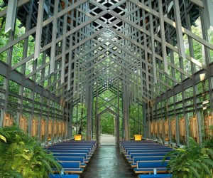 Organic interpretations of chapel architecture