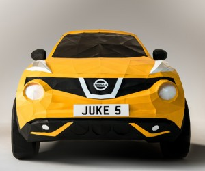 Origami Nissan Juke by Owen Gildersleeve