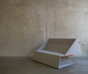 Origami Sofa: Folding Furniture
