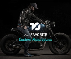 Our Favorite Custom Motorcycles by Bless this Stuff