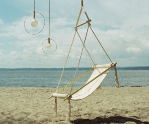 Ovis Hanging Chair by Ladies  Gentlemen Studio