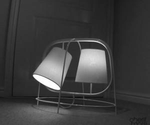 Owl lamp by Cherif Morsi