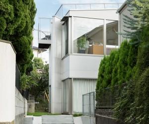 Oyamadai House by frontofficetokyo