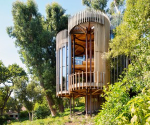 Paarman Tree House by Malan Voster, Cape Town