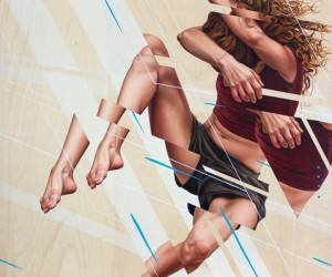 Painter James Bullough Explores Movement and the Human Psyche Through Fragmented Series Breaking Point