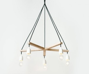 Palka: Turn Corded Lights Into Chandeliers