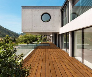 Panorama, the new bamboo board for exteriors by Deco