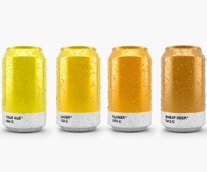 Pantone Beer Packaging by Txaber