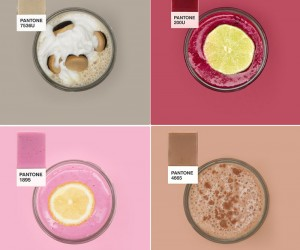 Pantone Inspired Smoothies and the recipes