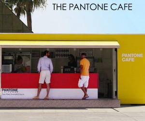 Pantone Pop-Up Cafe In Monaco