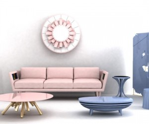 Pantone Style: More Rose Quartz and Serenity Decor Ideas