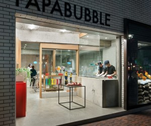 Papabubble in Yokohama by Schemata Architects