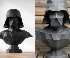 Papercraft Darth Vader Statue