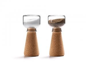 Par Cork Salt  Pepper Shaker by Materia  Nendo