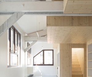 Paris 11 Duplex by Nicolas Reymond