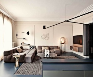 Paris Apartment Refurbished by UdA Architects