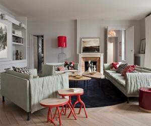 Parisian apartment by 2G